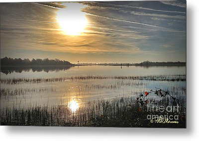 Metal Print featuring the photograph Airlie Road Morning by Phil Mancuso