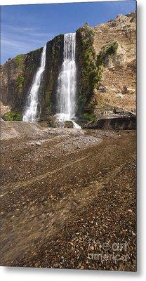 Alamere Falls On Crisp Day Metal Print by Matt Tilghman