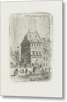 Albrecht Drer House In Nuremberg, Joseph Hartogensis Metal Print