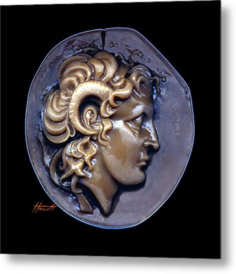 Alexander The Great Metal Print by Patricia Howitt