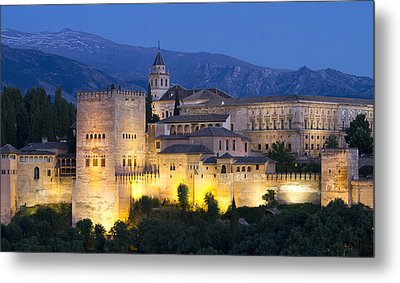 Metal Print featuring the photograph Alhambra Palace  by Nathan Rupert