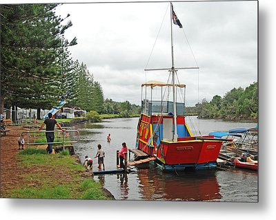 Metal Print featuring the photograph All Aboard by Ankya Klay