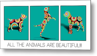 All The Animal Are Beautiful  Metal Print by Mark Ashkenazi