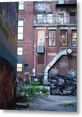 Metal Print featuring the photograph Alley by Paul Noble
