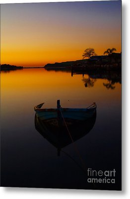 Metal Print featuring the photograph Alone by Trena Mara