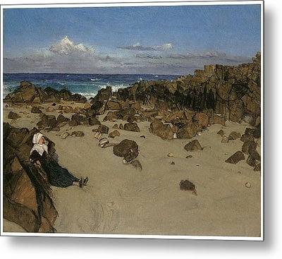 Alone With The Tide Metal Print by James Abbott McNeill Whistler