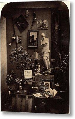 Alphonse Le Blondel French, Active 1842 - 1892 Metal Print