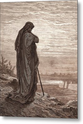 Amos The Prophet, By Gustave DorÉ. Dore Metal Print by Litz Collection