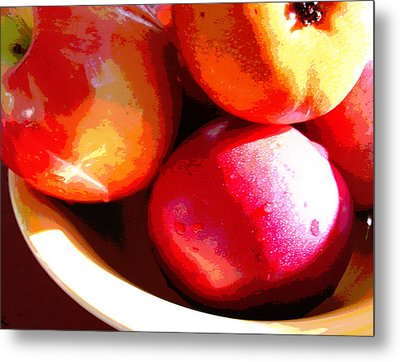 An Apple A Day Metal Print by Ginny Schmidt