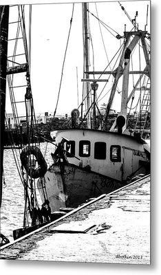 An Old Trawler Metal Print