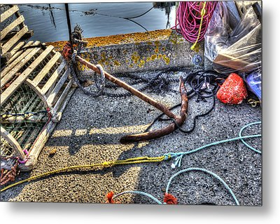 Metal Print featuring the photograph Anchor by Shawn Everhart