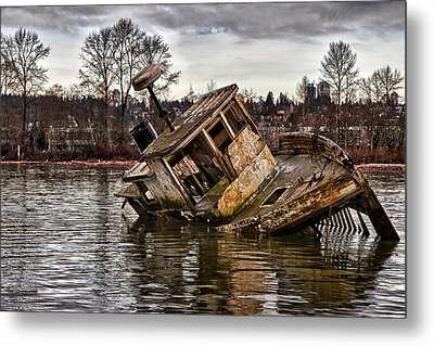 Anchored Forever Metal Print by Scott Holmes