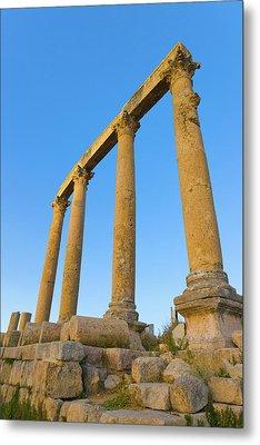 Ancient Jerash Ruins, Amman, Jordan Metal Print by Keren Su