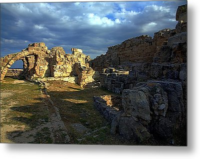 Metal Print featuring the photograph Ancient Landscape North Cyprus by Jim Vance