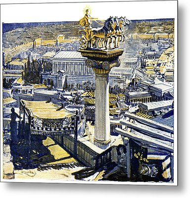 Ancient Rhodes Metal Print by Cci Archives