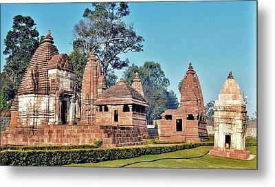 Ancient Temple Complex  - Amarkantak India Metal Print