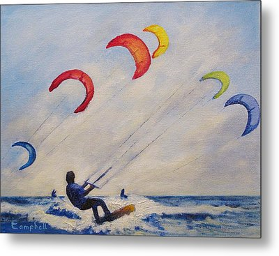 And You'll Take To The Skies Metal Print by Cecelia Campbell