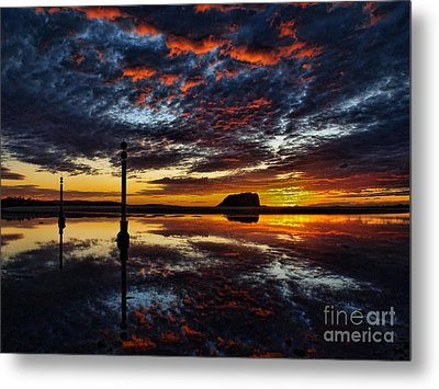 Metal Print featuring the photograph Angry Sky by Trena Mara