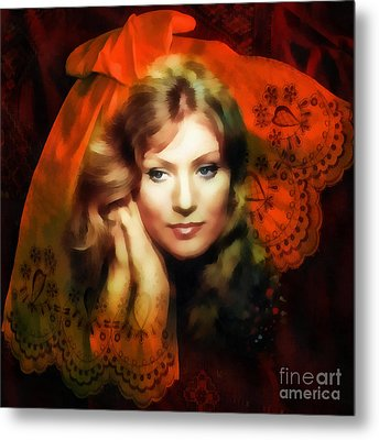 Anna German Metal Print by Mo T