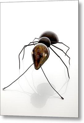 Ant Metal Print by Lawrie Simonson