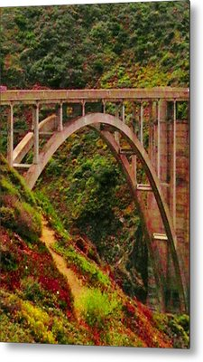 Anyone Seen The Bridge Metal Print by Sharon Costa