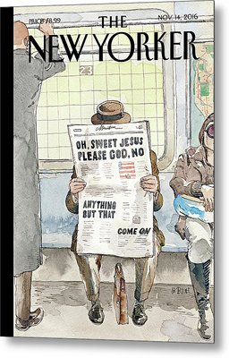 Anything But That Metal Print by Barry Blitt