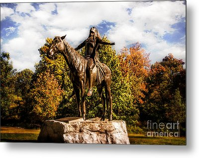 Appeal To The Great Spirit Metal Print by Tamyra Ayles