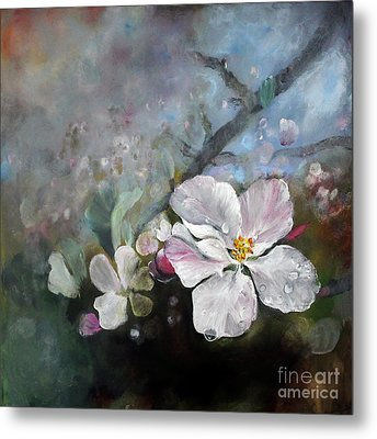 Appleblossom Metal Print by Stephanie  Koehl