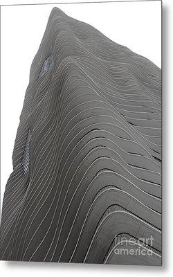 Aqua - 5 Metal Print by David Bearden