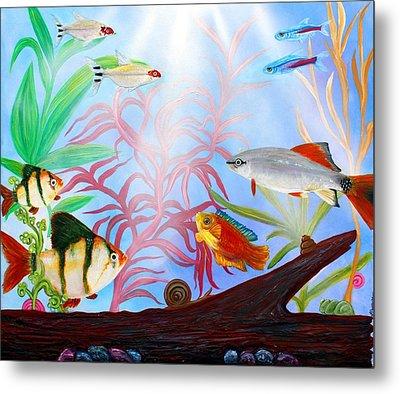 Aquarium Metal Print by Laura Barbosa