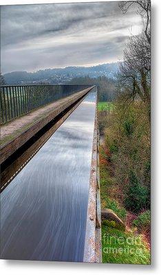 Aqueduct Metal Print by Adrian Evans