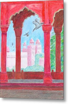 Arches Of India Metal Print