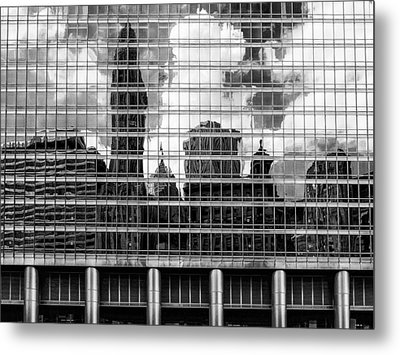 Architectural Abstract 3 Metal Print by Robert  FERD Frank