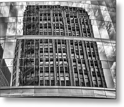Architectural Reflection 2 Metal Print by Robert  FERD Frank