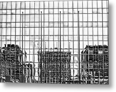 Architectural Reflection Metal Print by Robert  FERD Frank