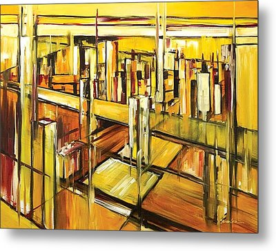 Architecture Metal Print by Ahmed Amir