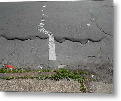 Are You In Line?  Metal Print by Richard Barone