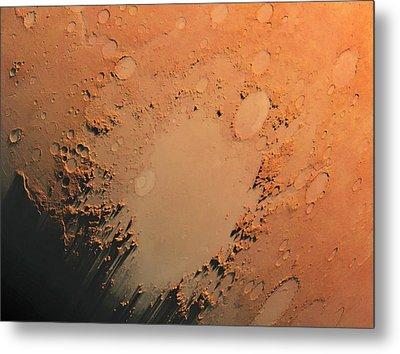 Argyre Impact Basin Metal Print by Detlev Van Ravenswaay