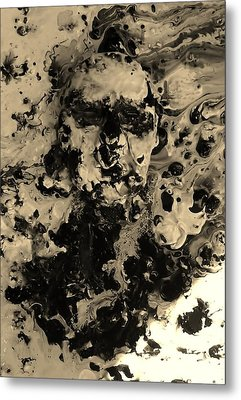 Asleep Metal Print by David King
