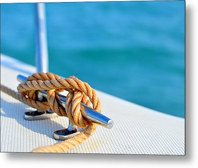 At Sea Metal Print by Laura Fasulo