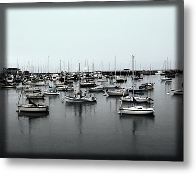 At The Bay  Metal Print by Sherry Flaker