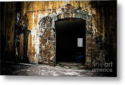At The Old Fort Metal Print by Perry Webster