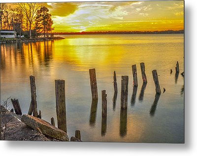 Atkins Landing Metal Print by Donnie Smith