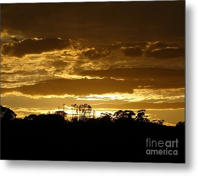 Metal Print featuring the photograph Australian Sunrise by Bev Conover