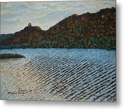 Autumn At Sugar Loaf Metal Print by Monica Veraguth