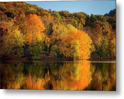 Autumn Color At Radnor Lake, Nashville Metal Print