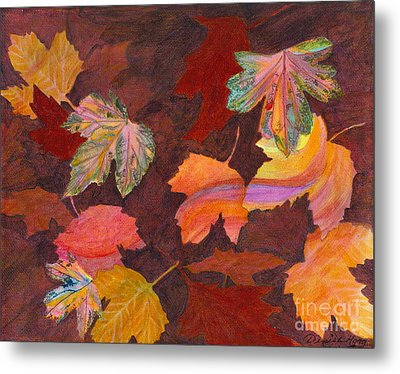 Autumn Wonder Metal Print by Denise Hoag