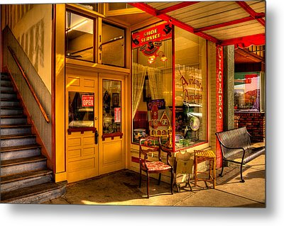 Aviance Antiques Prescott Arizona Metal Print by David Patterson