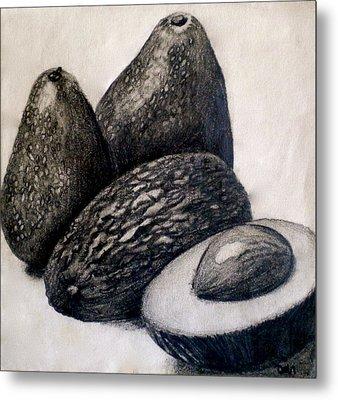 Avocados Metal Print by Debi Starr