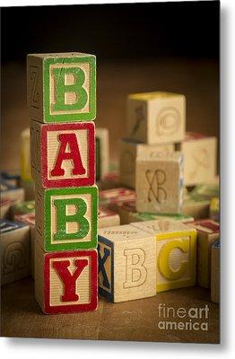 Baby Blocks Metal Print by Edward Fielding